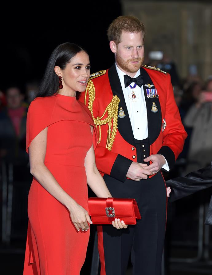 Harry and Meghan made a sight for sore eyes at the Mountbatten Music Festival.