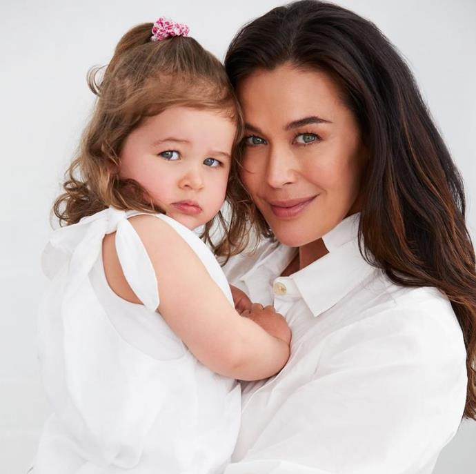 "In a heartwarming post, Megan Gale stated that she wished her daughter Rosie to be ""kind, loving, resilient, caring, determined, patient, free-spirited, honest, strong, confident, humble, respectful and so, so much more."" We can't believe how similar they look!"