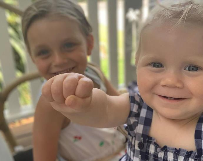 He also shared some more precious photos of the important ladies in his life, including the two daughters he shares with Carrie - Evie and Addie.