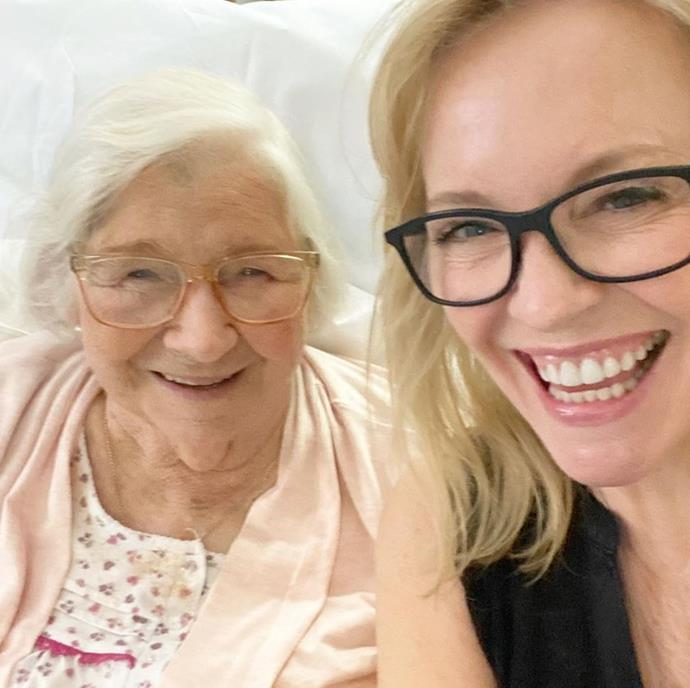 *Packed to the Rafters* star Rebecca Gibney uploaded a sweet selfie with her beloved Mama Shirl to celebrate the day.