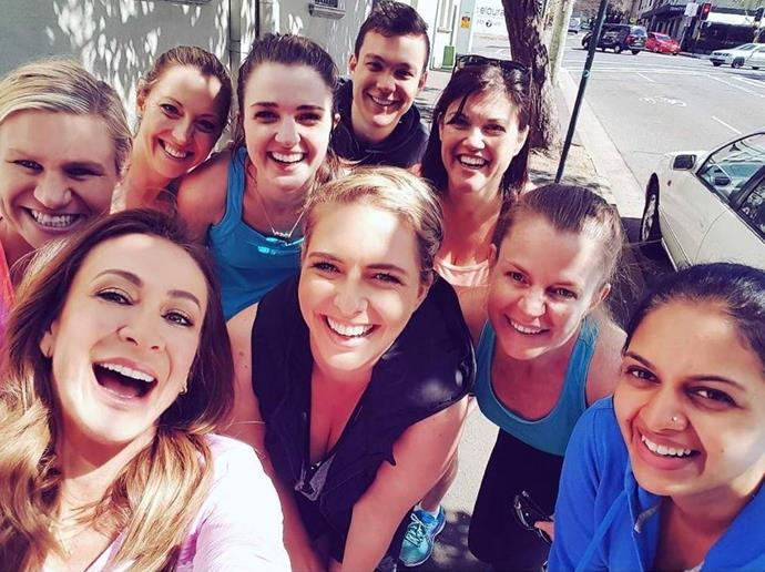 "Fitness guru Michelle Bridges remarked how inspired she's been by the ""incredible women, from all ages, cultures and communities"" who have shown her the ""strength, courage, beauty and POWER we all hold."""