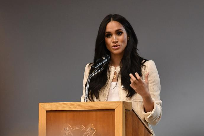 The Duchess spoke candidly about empowering women.
