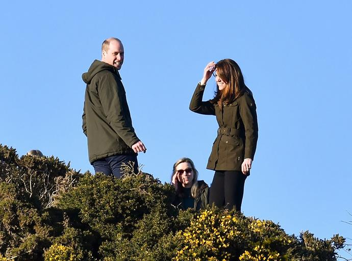 A sweet moment from Kate and William's time in Ireland has sent royal fans swooning.