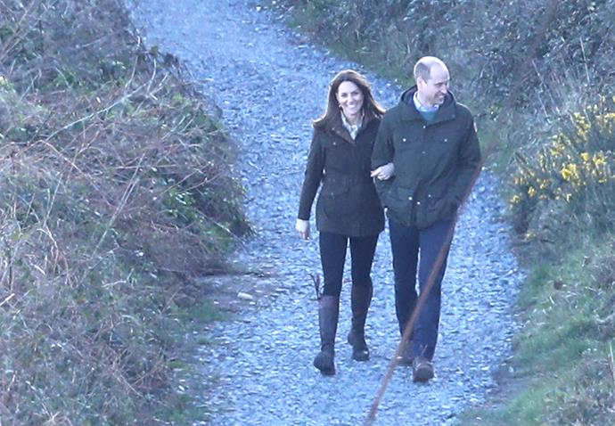 The couple melted hearts as images of their walk in Ireland surfaced.