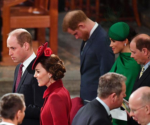 "Duchess Meghan found a firm friend in The Queen's youngest son, Prince Edward, Earl of Wessex when she sat next to him during Commonwealth Day celebrations. [The event marked](https://www.nowtolove.com.au/royals/british-royal-family/kate-middleton-meghan-markle-commonwealth-day-2020-62977|target=""_blank"") Prince Harry and Duchess Meghan's final outing as senior royals."