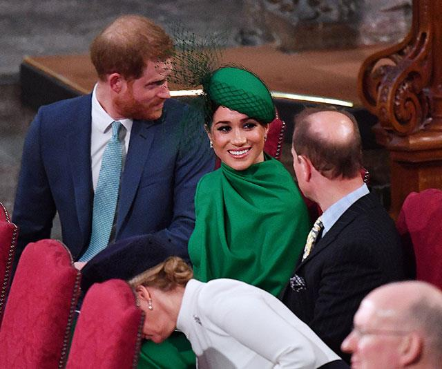 "The pair were seen sharing a friendly and animated conversation, which was quickly praised on social media. ""Prince Edward, Prince Harry and Meghan Markle giggling away together is the content I want to see. Good vibes all round,"" one user remarked on Twitter. **WATCH IN THE NEXT SLIDE: Duchess Meghan and Prince Edward share a friendly chat!**"