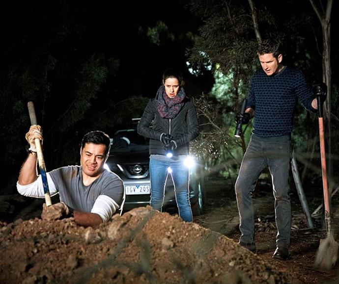 Jake and Vera helped cover up Will's crime, but first wanted him to dig up the body.