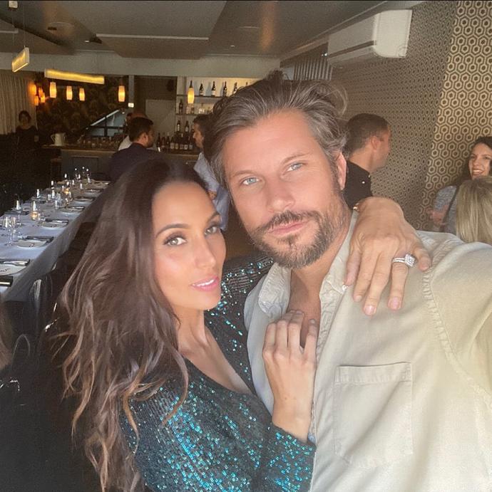 Sam met his wife Snezana Markoski on *The Bachelor Australia.*