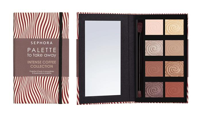 "**Sephora Collection Take Away Palette, $32 at [Sephora](https://www.sephora.com.au/products/sephora-collection-take-away-palette/v/01-intense-coffee-collection?dxid=Cj0KCQjw9ZzzBRCKARIsANwXaeLbBkcGpsbMJrmdgPJX2_rVNj7SwIJsi-5NKYuaZ0uJuY-zPEp2kbEaAlA7EALw_wcB&dxgaid=Cj0KCQjw9ZzzBRCKARIsANwXaeLbBkcGpsbMJrmdgPJX2_rVNj7SwIJsi-5NKYuaZ0uJuY-zPEp2kbEaAlA7EALw_wcB&gclid=Cj0KCQjw9ZzzBRCKARIsANwXaeLbBkcGpsbMJrmdgPJX2_rVNj7SwIJsi-5NKYuaZ0uJuY-zPEp2kbEaAlA7EALw_wcB|target=""_blank""