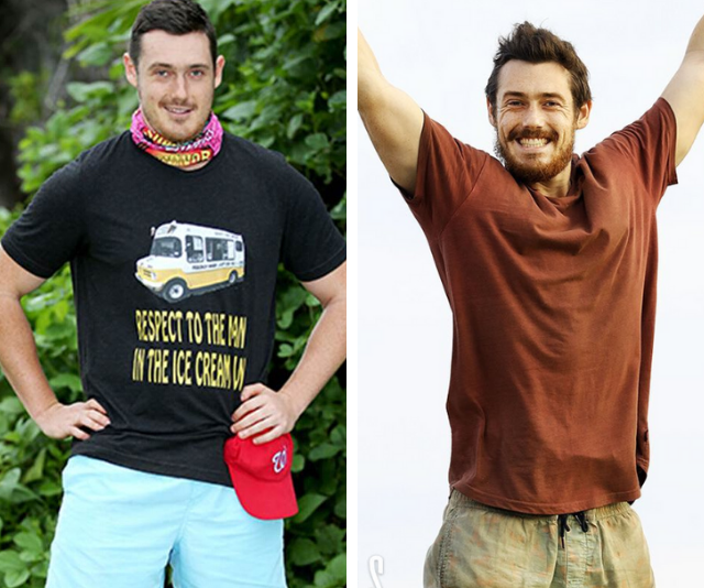 """**Harry Hills** <br><br> """"I went into my first season at about 100, or 98 kilos, and I went down to about 81kg when I came out,"""" Harry [told *Now to Love*.](https://www.nowtolove.com.au/reality-tv/survivor/survivor-2020-harry-eliminated-62910