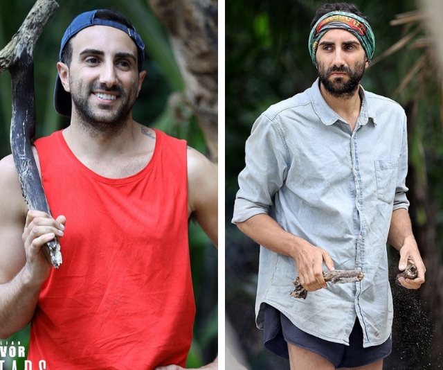 """**Nick Iadanza** <br><br> """"This time I lost five kilos in 28 days. Last time I lost seven kilos  in 37 days,""""  [Nick """"the snake"""" said](https://www.nowtolove.com.au/reality-tv/survivor/survivor-2020-nick-eliminated-62858