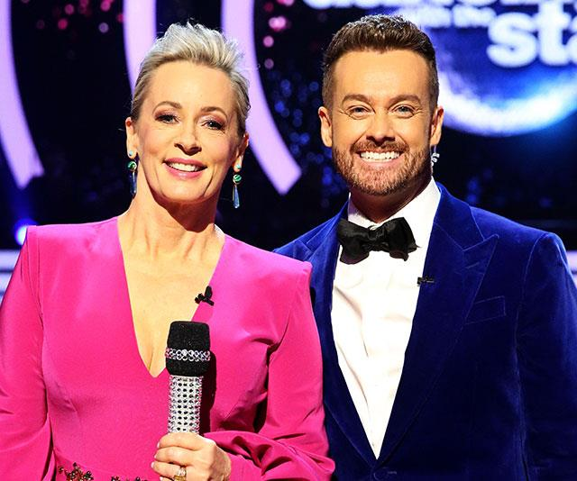 *Dancing With The Stars'* Amanda  Keller and Grant Denyer are just two peas in a pod!