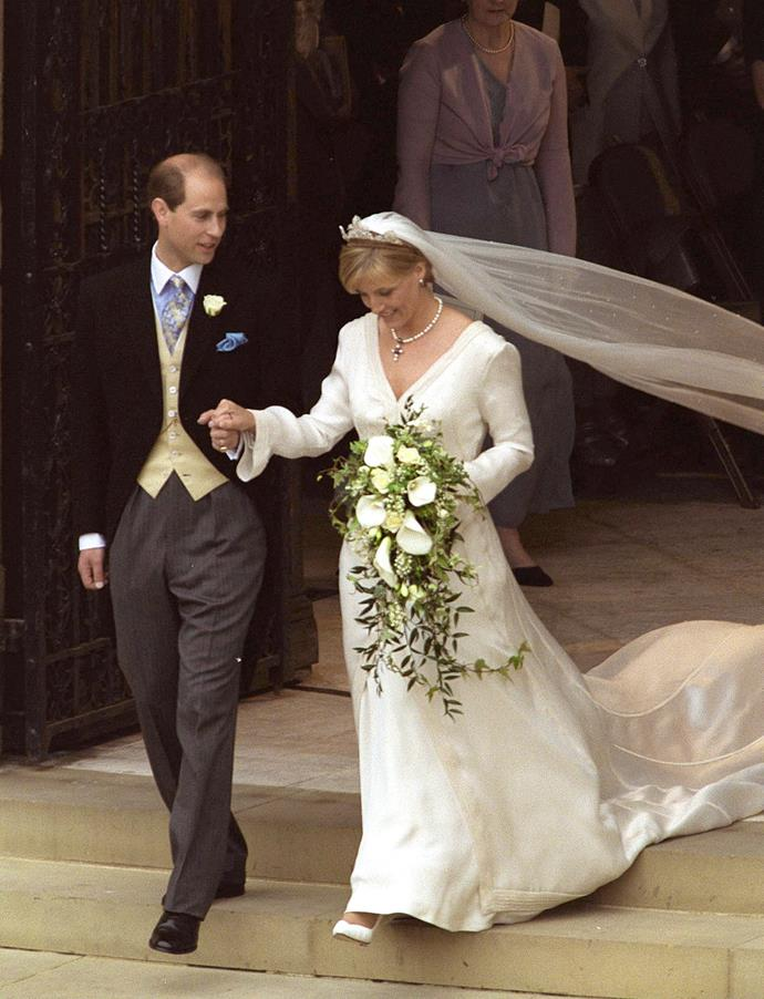 On their wedding day, the Queen bestowed Edward and Sophie with the titles Earl and Countess of Wessex.