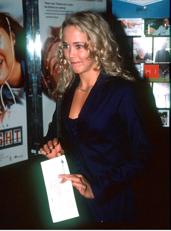 Back to her roots, Bec, who was born in Sydney, was the ultimate beach blonde gal in 1999 - with perfect bouncy curls to boot.