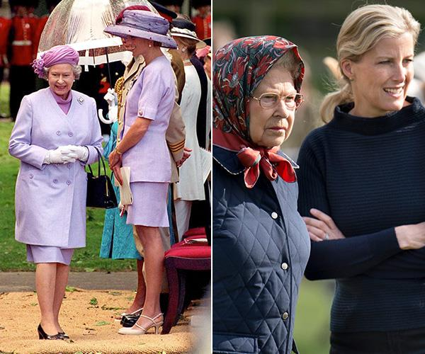 They've even had moments when they colour-coordinated with the Queen!