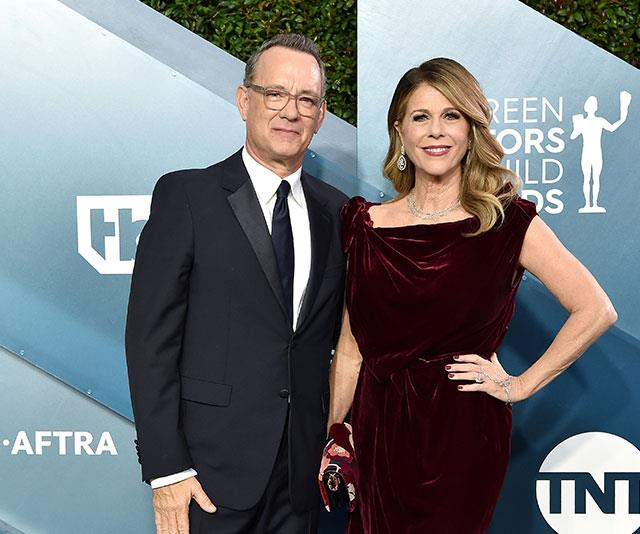 Tom Hanks and Rita Wilson are currently in isolation in a Gold Coast hospital.