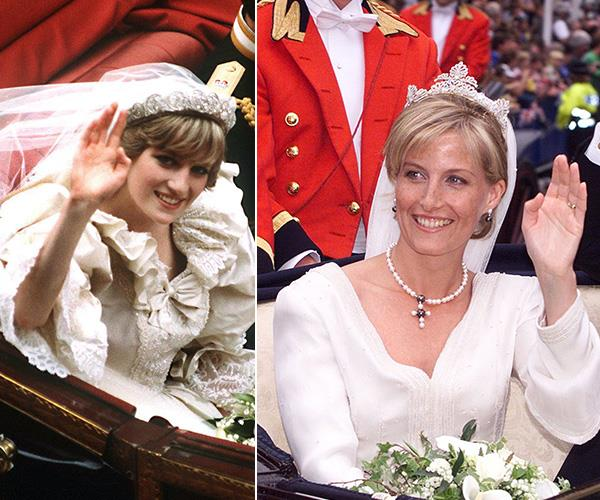 And on their respective wedding days, both brides nailed their royal wave during the carriage procession.