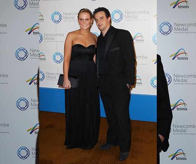 Jelena and her partner Tin Bikic pictured in 2011.