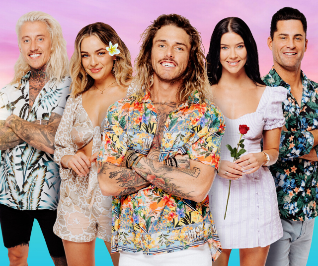 From left: Ciarran, Abbie, TImm, Brittany and Jamie are all joining Bachelor in Paradise season three.