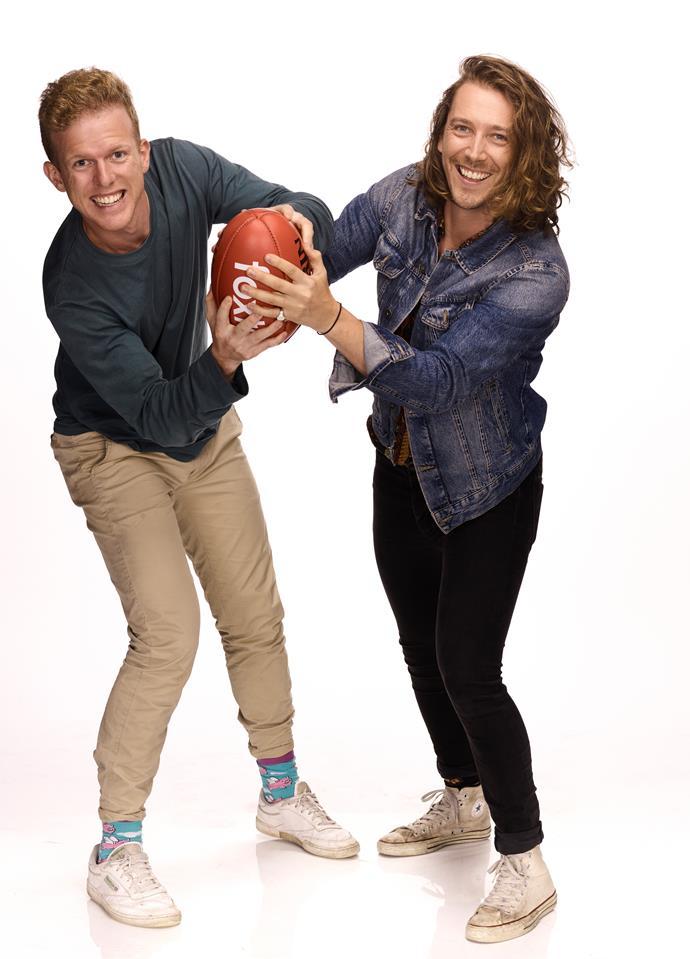 Adam and Symon will be hosting new show *Premierships And Footy Trips* on FOX Footy.