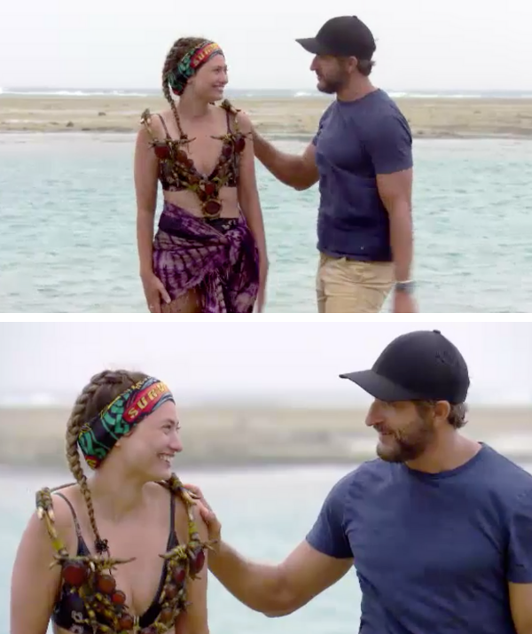 Fans were quick to point out Jonathan and Shonee's flirtatious behaviour and body language last week!