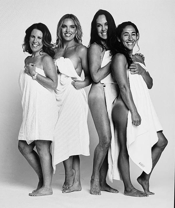 Survivor's Janine Allis (second from right) took major convincing before she agreed to take part in the challenge.