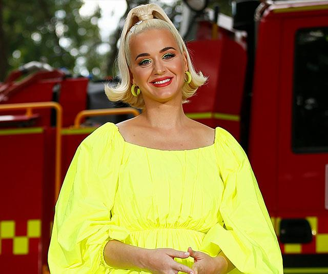 While Down Under, Katy admitted she wasn't yet sold on Vegemite.