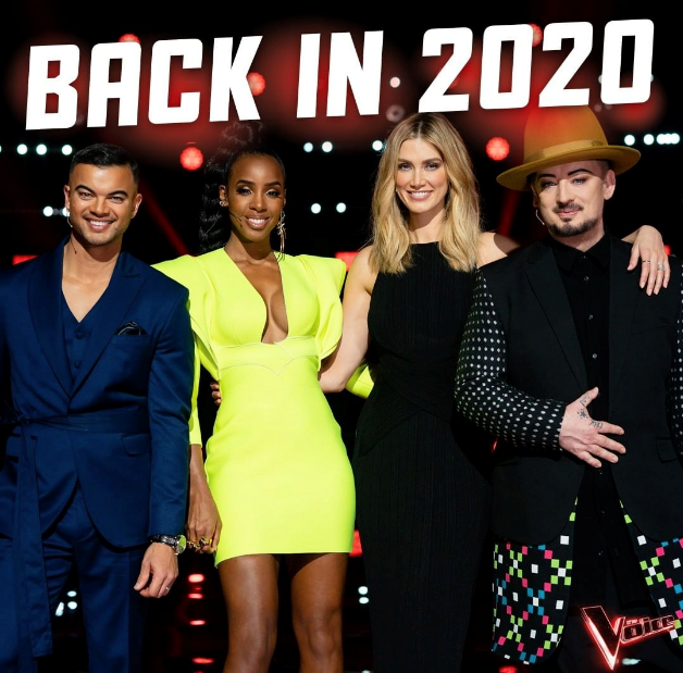 "Filming of *The Voice* has been ""temporarily postponed"" according to a Nine spokesperson."