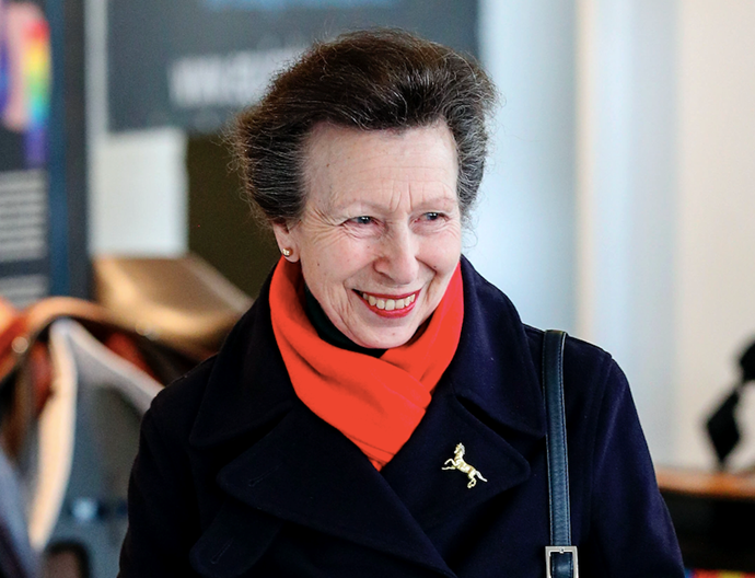 Princess Anne was out and about amid Coronavirus fears on Monday, proving she's willing to keep calm despite fears around COVID-19.