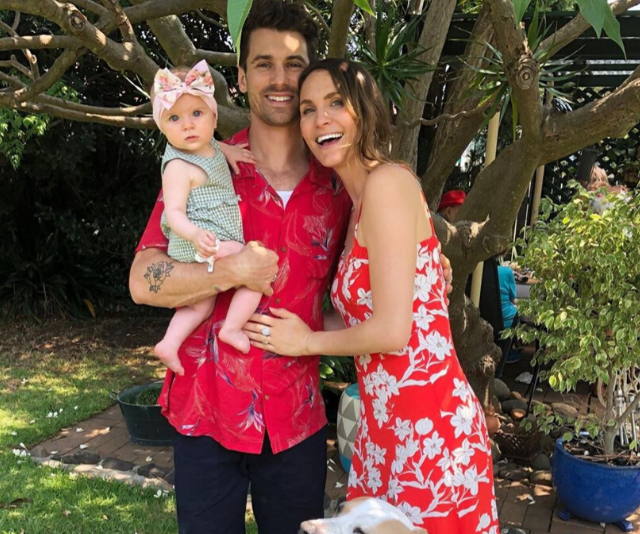 Laura, Matty and Marlie-Mae make the cutest family.