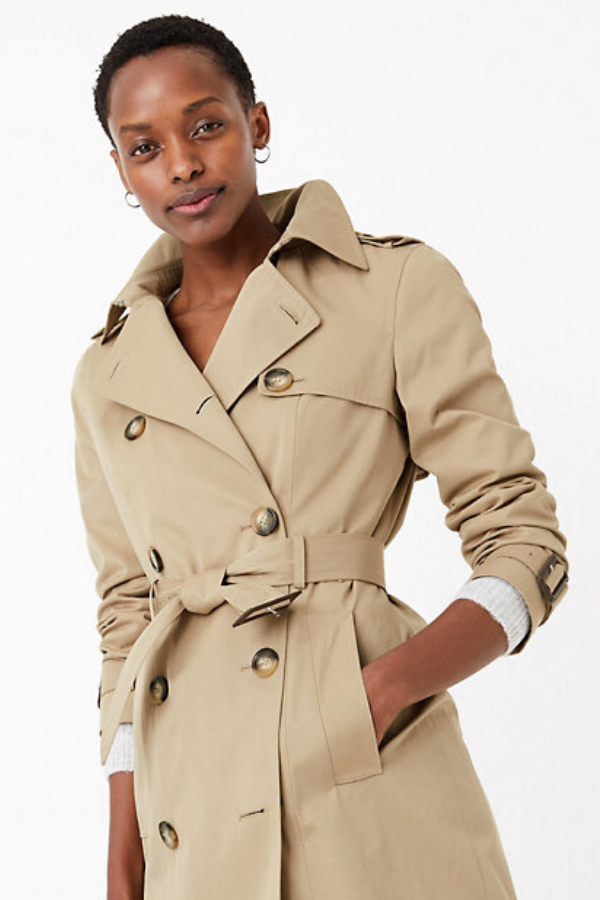 "This [$119 Marks and Spencer trench coat](https://www.marksandspencer.com/au/double-breasted-trench-coat/p/P60370585.html?gclid=Cj0KCQjw6sHzBRCbARIsAF8FMpWB4sHWKzaFebuyWZwa8dgQLvBK9Mi7329T0ZC-ndD7aOgikDtrMEEaAuO1EALw_wcB&gclsrc=aw.ds&&extid=ps_ggl_4PS_AU_Shopping_Smart_All_Best_Sellers&ef_id=Vt6X4gAABDaqIK8W:20200317083848:s|target=""_blank""