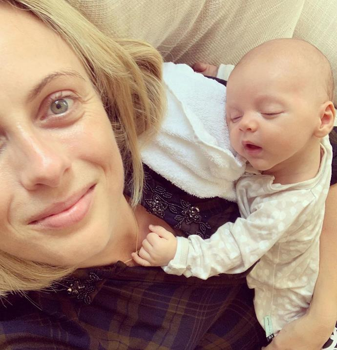 "Posting to her 245,000 Instagram followers in the midst of the scary coronavirus crisis, Sylvia shared a heartwarming message to other new mothers who might be feeling anxious and isolated at home, alone with a newborn baby.  <br><br> ""While it's a good time to be living in a little 💓 bubble with nowhere to go, I'm conscious of the confusion and anxiety that many new mums might be feeling right now,"" Sylvia wrote, alongside this gorgeous mother-son selfie featuring baby Oscar.  <br><br> ""Mother's groups - a social lifeline for many - have been cancelled, libraries closed, cafes are being avoided. So I just wanted to send some love and virtual hugs to other mamas out there who might be feeling extra isolated. Drop a comment below if you want to connect, chat about reflux, LOL about 💩namis, recommend some bingeworthy series, or share your sleep secrets. Let's chat and be kind and stay connected. Big love, from us 💓 #togetherathome."" <br><br>"