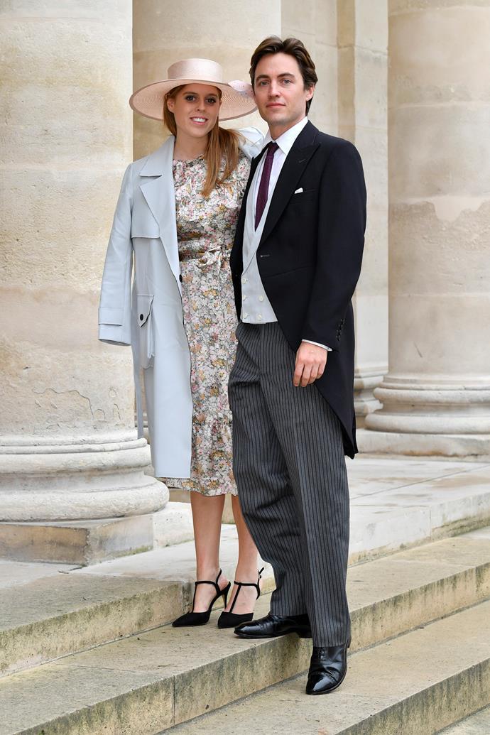 Princess Beatrice's wedding to fiancee Edoardo Mapelli Mozzi was put on hold due to her father's scandal surrounding Jeffrey Epstein.