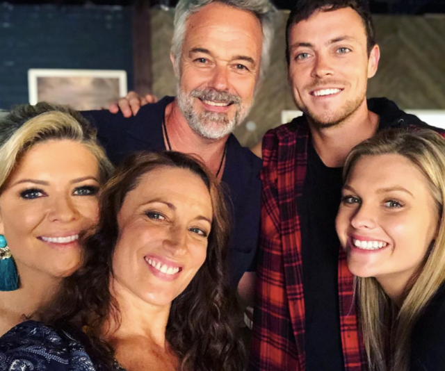 Cameron Daddo joined the cast this year (Pictured here with Emily Symons, Georgie Parker, Patrick O'Connor and Sophie Dillman). We can't wait to see what drama his character brings!