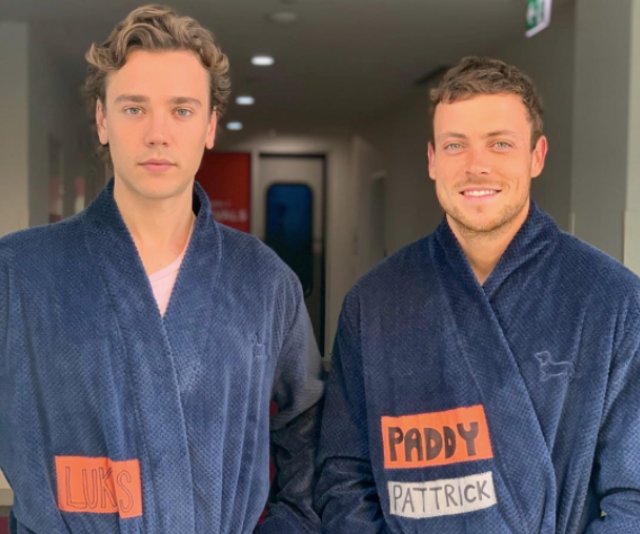 """Summer Bay may look sunny but *Home And Away* films year-round. We spy [Lukas Radovich](https://www.nowtolove.com.au/tags/lukas-radovich