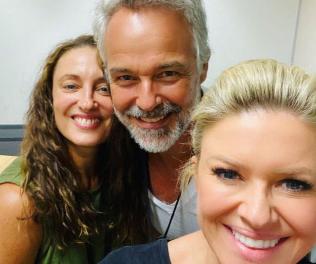Cameron Daddo has been making regular appearances in his new castmates' photos. We've loved watching him be welcomed with open arms!