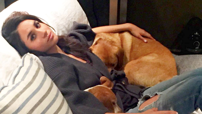 Meghan Markle has nailed the self-isolation loungewear brief in her old snaps from Instagram.