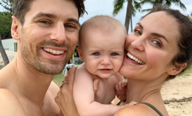 Matty J forgot daughter Marlie-Mae's name on Instagram - but Laura Byrne made sure it won't slip his mind again