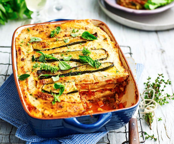 """A hearty **[vegetable lasagne](https://www.womensweeklyfood.com.au/recipes/vegetable-lasagne-19438