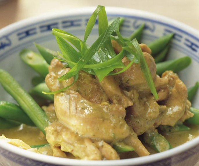 """It's a classic for a reason! This **[Thai green chicken curry](https://www.womensweeklyfood.com.au/recipes/thai-green-chicken-curry-6857