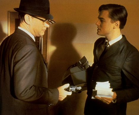 ***Catch Me if You Can*** <br><br> Also starring Leonardo DiCaprio, this must-see film will have you on the edge of your couch for the entire duration. Featuring money laundering, brilliant lies and a years-long chase, you'll be hooked from the first minute.