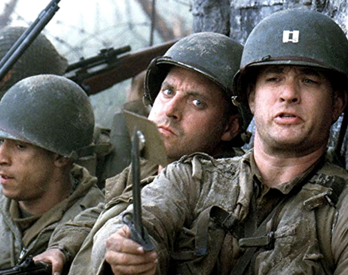 ***Saving Private Ryan*** <br><br> Another must-watch, this film looks at the Normandy invasion of World War II, where Captain John Miller is tasked with finding Private James Ryan - a troop whose three brothers have already been killed in the war.