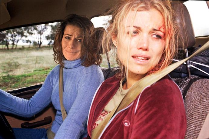 **Claire McLeod - *McLeod's Daughters*** <br><br>  This is one goodbye that scarred us for life. When a horse ran across the country road Claire and Tess were driving down, they swerved off the road and crashed their Ute. Teetering on the edge of a cliff, the sister's lives were literally hanging in the balance. Claire's leg was stuck under the steering wheel, so she urged Tess to save herself and baby Charlotte seated in the back. Getting Charlotte to safety, Tess tried to use a rope to secure the car to a tree but it was too short. Claire knew her time was running out and asked Tess to take care of Charlotte before pushing Tess away as the car plummeted down the cliff.