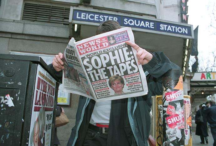 Sophie's recorded tapes with the undercover journalist made headlines.