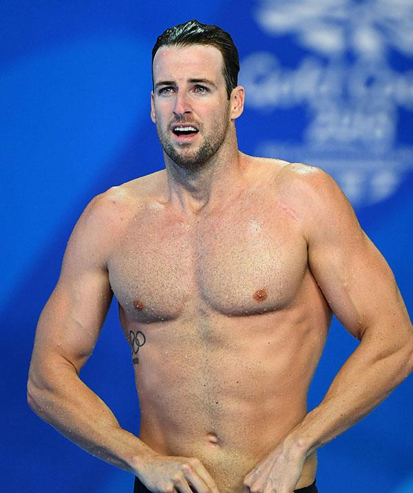 **James Magnussen, Olympic swimmer** <br><br> Swimmers are known for their strength and precision - so we're pretty sure former Olympic swimmer James is going to bring one hell of an A-game.