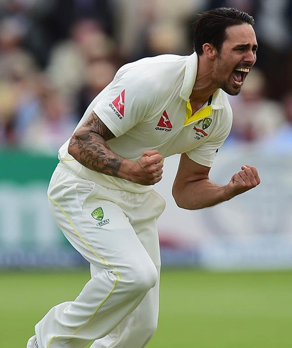 **Mitchell Johnson, cricketer** <br><br> A sportsman and impassioned athlete, Mitchell Johnson is no doubt reading to come in steaming.