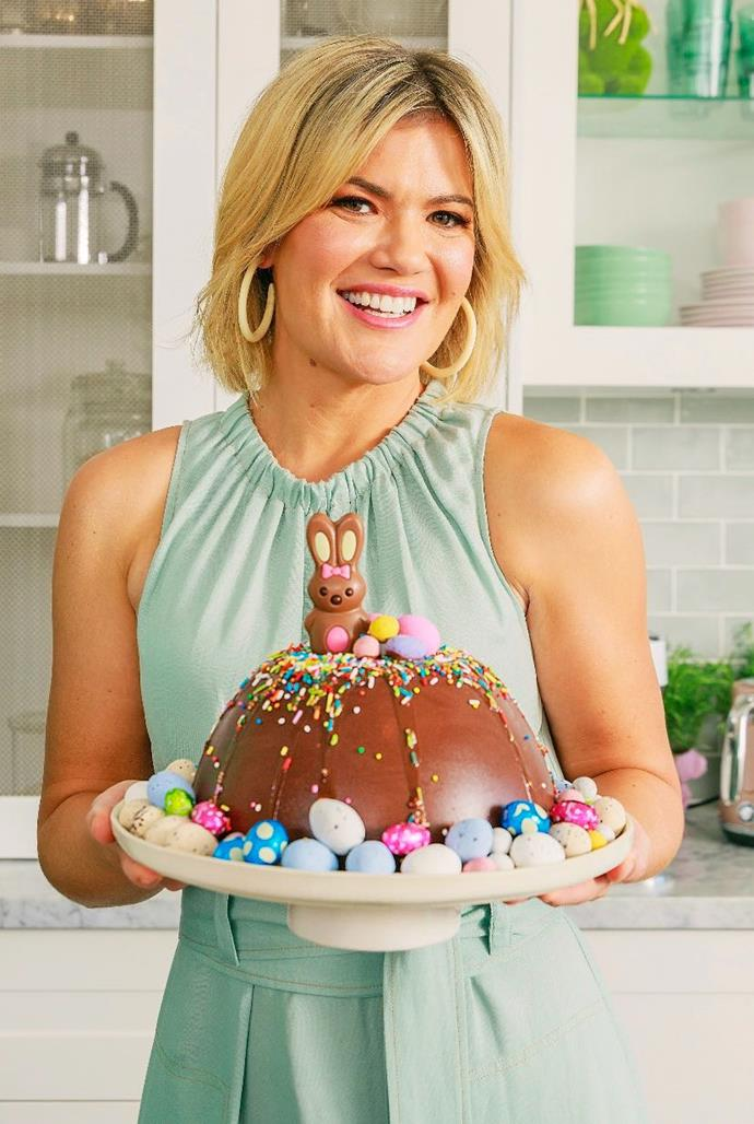 Sarah Harris is ready to bring a little Easter cheer.