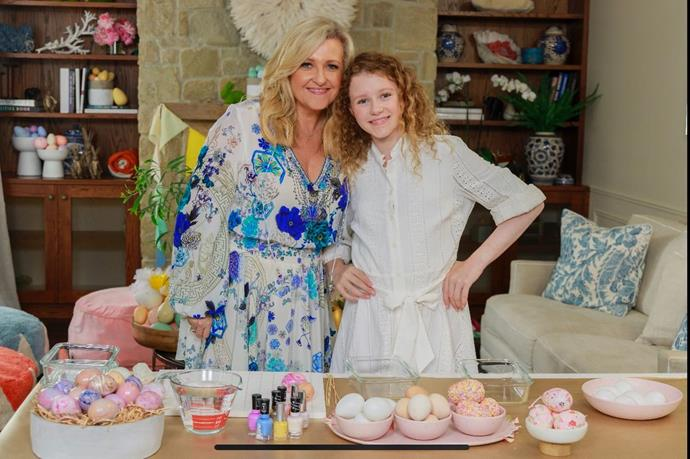 What will TV presenter Angela Bishop and her daughter Amelia be cooking up?