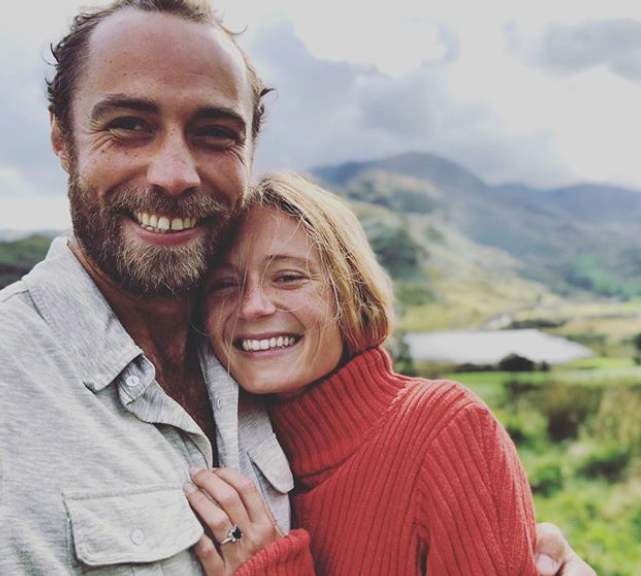 James Middleton and fiancée Alizee Thevenet have been forced to cancel their wedding for the time being amid the COVID-19 pandemic. *(Image: Instagram/@jmidy)*