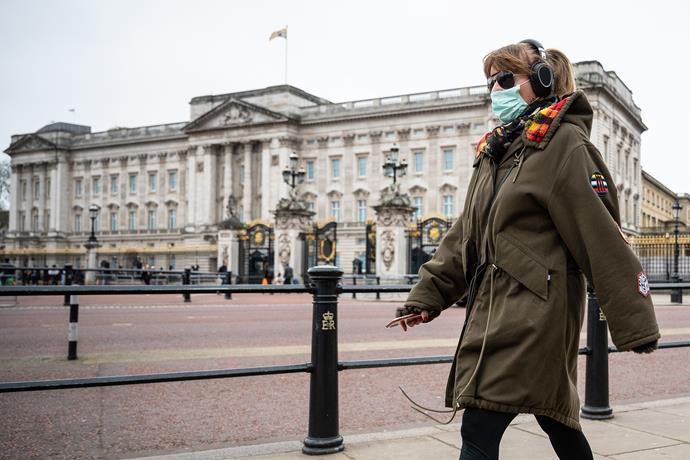 A Buckingham Palace aide has tested positive for coronavirus.